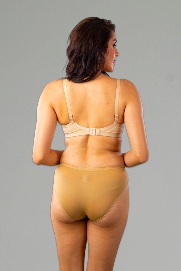 Bikini Panty 2 Pcs Pack Nude