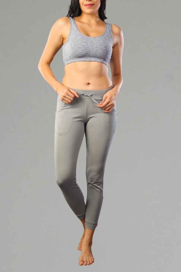 Mid-Rise Joggers with Insert Pockets-