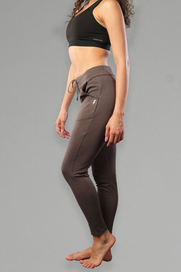 Women's Slim-Fit with Pocket Fitness Bottoms