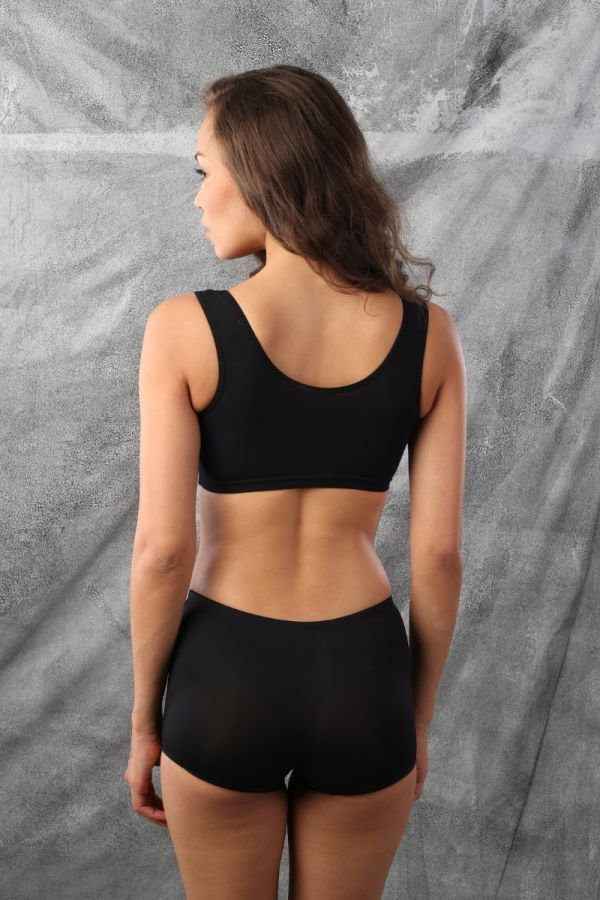 Light and Comfy Beginners Bra Black