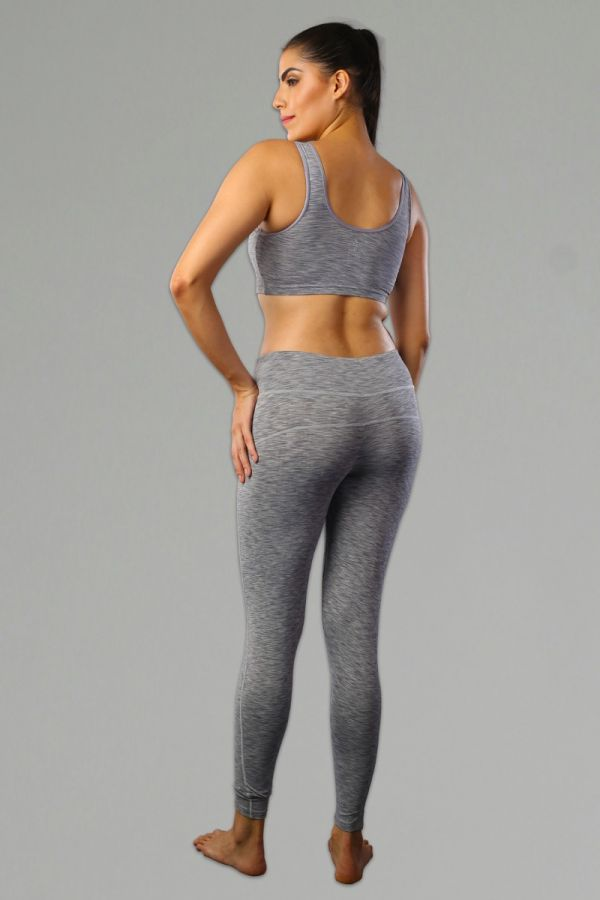 Women Perfect Training Tights- ML Grey
