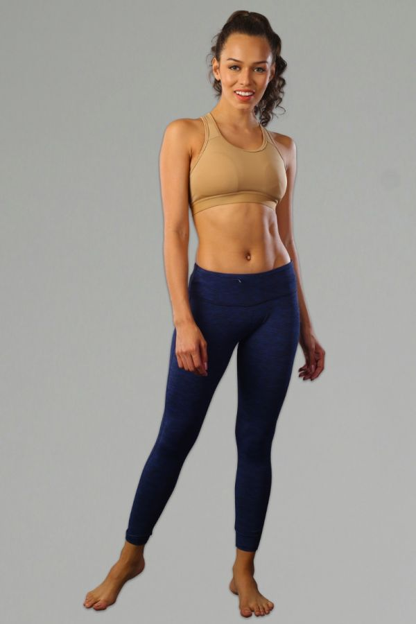 Women Perfect Training Tights- ML BLUE