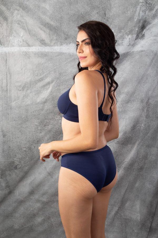 Two Pcs pack Panty Navy Bikini#108