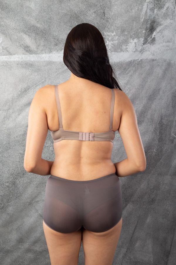 Soft Stretch Pads Bra-GREY-32-C